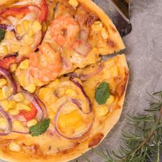 意大利薄底披萨 又酥又脆