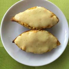 奶酪焗红薯(平底锅版)