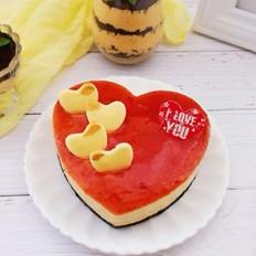 奥利奥莓香冰激凌蛋糕