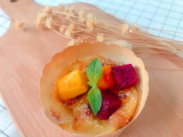 创意面包水果布丁杯的做法
