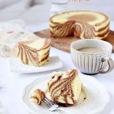斑马纹可可蛋糕