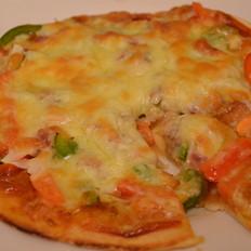 简易田园吞拿鱼披萨的做法