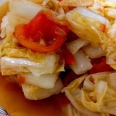 西红柿炒大白菜