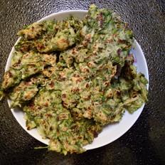 槐香蛤蜊饼