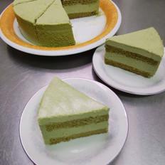 抹茶白克力慕斯蛋糕