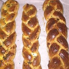 提子辫子面包