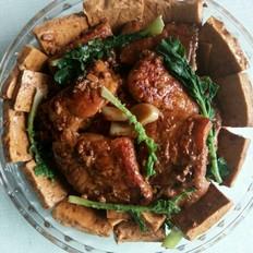 酱烧青鱼豆腐