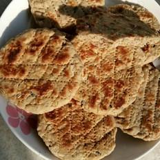燕麦片果仁石头饼