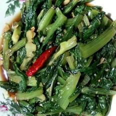 蚝油蒜辣油麦菜