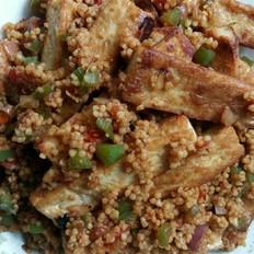 酱香小米豆腐