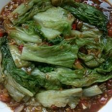 蚝油淋汁生菜
