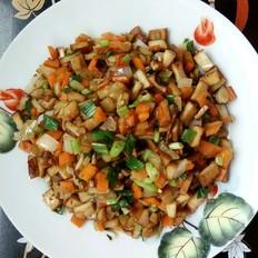 榨菜香葱炒杂菜