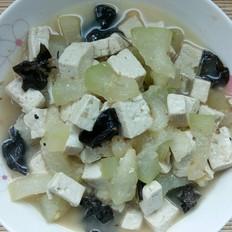 豆腐冬瓜木耳炖