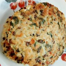 猪肝蔬菜米饼