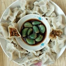 牛肉萝卜香菜馅饺子
