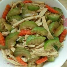 蚝油腐竹西葫芦