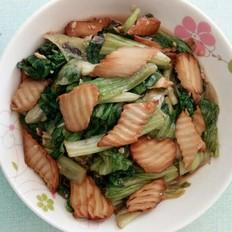 蚝油蒜香杏鲍菇生菜