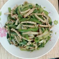 黄瓜杏鲍菇炒豆干
