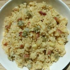玉米豌豆小米饭
