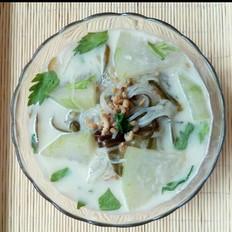 海米冬瓜海带汤