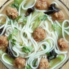丸子米粉汤