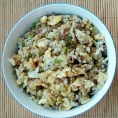 丸子杂蔬蛋炒二米饭