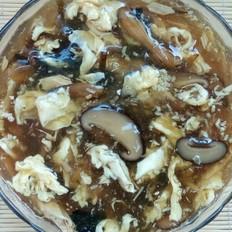 菌菇鸡蛋胡辣汤
