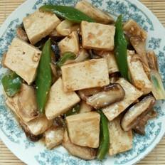 芡汁香菇豆腐