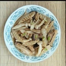 鸡汤烧冬笋香菇