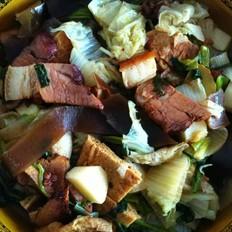 白菜炖粉条
