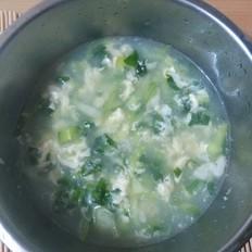 小油菜鸡蛋汤