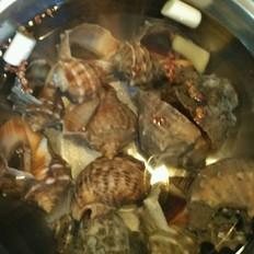 煮海螺的做法大全