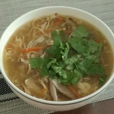三丝酸辣汤