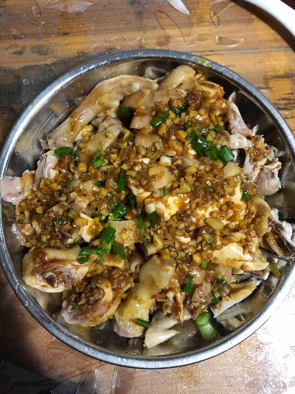 沙姜葱油鸡