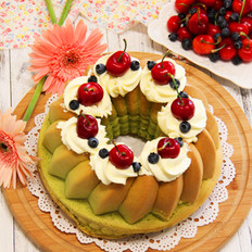 菠菜萨瓦林蛋糕