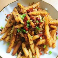 香辣干煸土豆