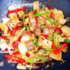 鲜笋炒五花肉