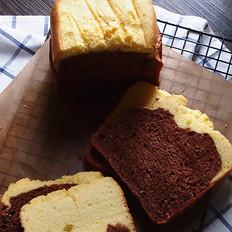 蛋糕可可吐司