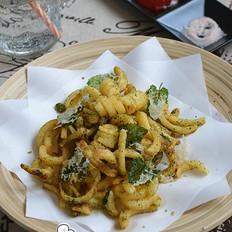 海苔薄荷叶螺旋薯条