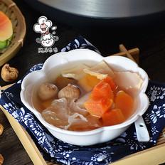 木瓜响螺花胶汤(炖)