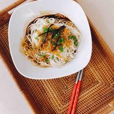 虾米酱油拌面