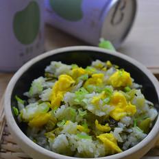 酸菜鸡蛋炒米饭