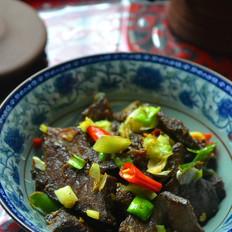 年饭硬菜小炒风干牛肉