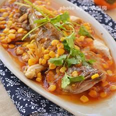 微波茄汁鱼