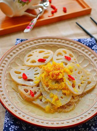 热姜汁藕片的做法