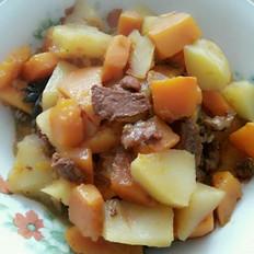 南瓜燉土豆