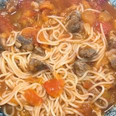 番茄牛腩意大利面