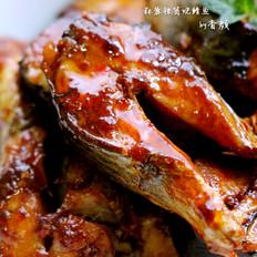 蒜蓉辣酱焼鲭鱼