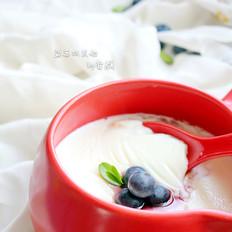 蓝莓双皮奶
