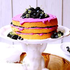 紫薯酸奶裸蛋糕